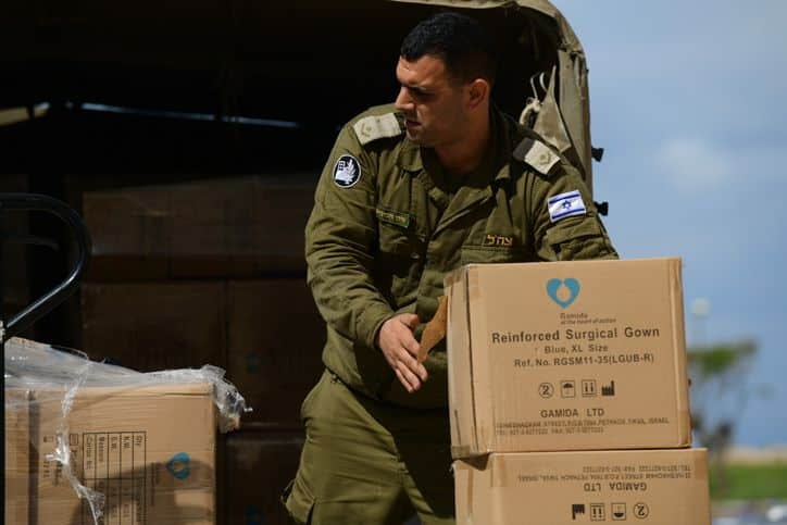 covid-19 armée israélienne