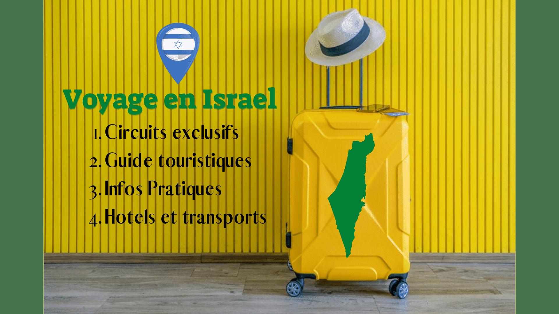 Voyage en Israel